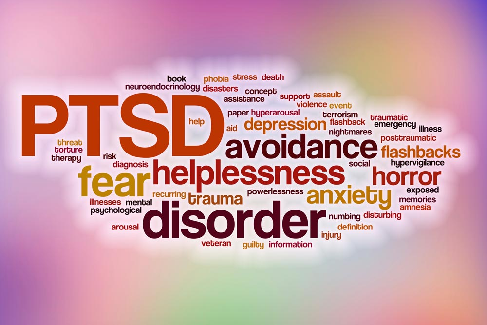 ptsd with depression and anxiety